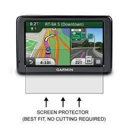 Wholesale Garmin Nuvi Screens - Wholesale- 3* Clear LCD PET Film Anti-Scratch Screen Protector Cover for Garmin Nuvi 2455 2455LM 2455LT 2455LMT Aviation GPS