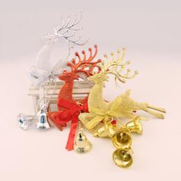 fenêtre d'aération Promotion Décoration de Noël pendentif arbre de cerf pendentif vent carillons fenêtre décoration de la maison LZ0062