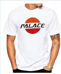 Wholesale Men Floral Tshirt - Summer Fashion Cool palace Skateboard Hip Hop pepsi Tee T-Shirts Men Women Short Sleeve Tshirt
