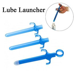 Wholesale Wholesale Sex Aids - Sex Aid Tools Anal Vagina Shooter Lube Launcher, Personal Sex Lubricant Applicator Syringe Lube Tube Sex Toys For Men Woman Gay
