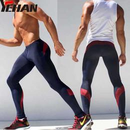d84c535c92f Wholesale- Compresion Pants Men Sport Runing Pants Elastic Joggers Spandex  Tights Men Sweatpants Low Rise Leggings Fitness Men Skinny Yoga men joggers  pants ...