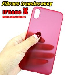 Wholesale Yellow Camera Case - 0.3mm Ultra Thin Case Slim Camera Protection Matte Frosted Clear Transparent Flexible Soft PP Protective Cover Case for iPhone 8 Plus 7Plus