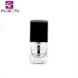 Wholesale Gel Nail Stamps - Wholesale-KADS New Arrival 6ml Smudge Resistant Top Coat Nail Stamping Coat Special for Stamping that Do Not Smear Stamping Design