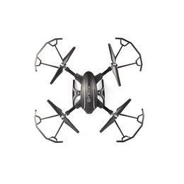Wholesale Aerial Camera Lens - 2.4G folding deformation four-axis aircraft headless mode remote control large aircraft WIFI real-time transmission aerial unmanned