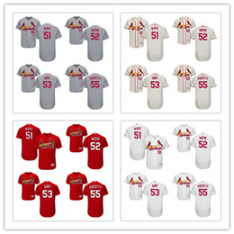 Wholesale Men s MLB St Louis Cardinals Willie McGee Michael Wacha John Gant Stephen Piscotty Jerseys FlexBase Red White Grey Stitched
