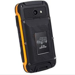 "Mobiltelefon 4.4 online-Original F605 IP68 Handy H-Mobile Wasserdicht MTK6572 Dual-Core 512 MB RAM 4 GB ROM 4,5 ""IPS-Bildschirm Android 4.4 PK V6 W8 Batteriebank"
