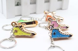 Wholesale Personalized Leather Key Chain - Personalized creative small gifts wholesale exquisite simulation of shoes and key chain pendant event gift wholesale