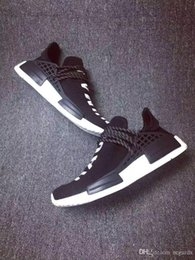 Wholesale Cool Skateboarding Shoes - 2017 Cheap Online Wholesale Pharrell Williams X AD NMD HUMAN RACE SHOES COOL STOCK DROP SHIP 2017 Summer Shoes man New Fashion running shoes