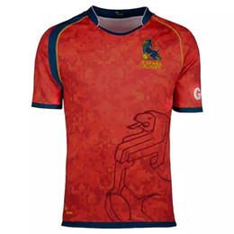 Wholesale Rugby Team Jerseys - 2017 Australia Spain rugby jerseys Fiji Ireland New Zealand Malaysia national team rugby shirts top quality jerseys