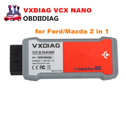 Wholesale German Ii - VXDIAG VCX NANO for Ford Mazda 2 in 1 with IDS V101 Better Than VCM II FOR FORD V101 for Mazda V101 Free shipping