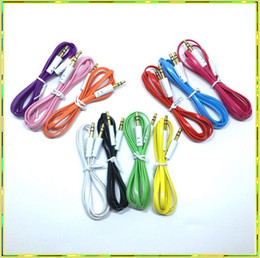 Wholesale Extension Hdmi Male Female - Aux Cable Auxiliary Cable 3.5mm Male to Male Audio Cable Stereo Car Extension Cables for Digital Device 50pcs up free shiipping