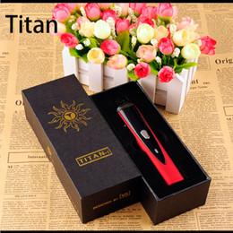 Wholesale Dry Herb Variable - Titan 1 Dry Herb Vaporizer Variable Temperature 2200mA kits Titan1 E Cigarette Starter Kit vs Snoop dogg G pro kit free shipping