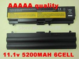 Wholesale Thinkpad L512 - Wholesale-5200mAh Battery For Lenovo ThinkPad Edge E40 E50 L410 L412 L420 L421 L510 L512 L520 SL410 SL510 T410 T420 T510 T520 W510 W520