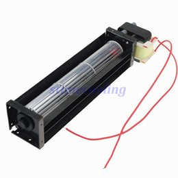 Wholesale fan flow - Wholesale- 1 Piece HL30190 270mm*50mm*48mm Ball Bearing 12W AC 220V Crossflow Cross Flow Fan