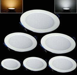 Wholesale Ultra Thin Led Downlights - New Style Led Downlights Dimmable 7W 9W 12W 15W 18W 25W Led Recessed Ceiling Light Ultra Thin Led Down Lights 85-265V MYY