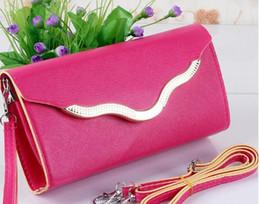 Wholesale Cell S1 - woman Clutch Bags Amphibious hardfaced wallet Long oblique satchel bag s1-s45.
