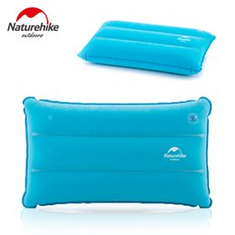 Wholesale backpacking pillow - Wholesale- Brand NatureHike Inflatable Pillow for Hiking Backpacking Travel camping nap Portable air pillows