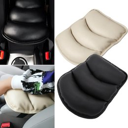 Wholesale Seat Covers Supports - New Car Armrest Console Pad Cover Cushion Support Box Armrest Top Mat Liner FOR VW Benz Audi BMW Mazda Hyundai Nissan Chevrolet