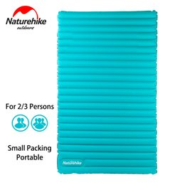 Wholesale Inflatable Mattresses - Wholesale- NatureHike Inflatable Mattress for 2~3 Person 200x120x9.5cm Big Size Portable Air Pad NH17T120-U