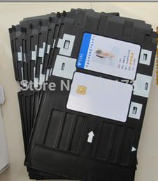 Wholesale Printer Card Tray - Wholesale- 1151pcs lot Inkjet Printable blank PVC card for Espon printer,Canon printer + 1pcs card tray