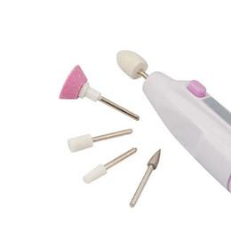 brocas profissionais de unhas acrílicas Desconto Atacado - Professional Nail Art Brill Arquivo Buffer Polonês Manicure Pedicure Acrílico Prego Ca