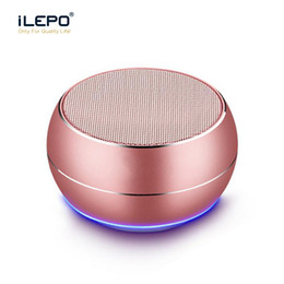 Mini Wireless Speaker Bluetooth 4.1 Portable Colorful Metal Subwoofer Support TF Card With Multifunction Wheel Retail Box Better Xtreme Coupon