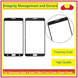 Wholesale Note3 Screen - High Quality For Samsung Galaxy Note3 N900 N9005 N900F Note 3 Mini Lite Neo N750 N7505 Front Outer Glass Lens Touch Screen Panel