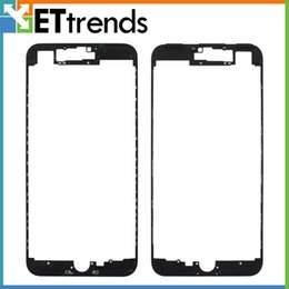 iphone bezel wholesale Promo Codes - High Quality Bezel Frame with Glue for iPhone 7 plus LCD & Digitizer Frame Bezel Screen Bezel with Glue Replacement free ship by DHL