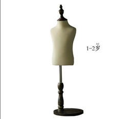 Wholesale busted clothing - FreeShipping!1-6year children clothing mannequin,professional styling,kreativ hobby,schaufensterpuppe,geboorte decoratie,bust display,HY018