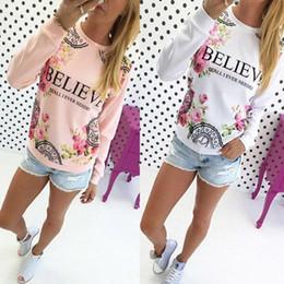 sudaderas florales Rebajas 2017 primavera moda casual mujer algodón holgado estampado floral sudaderas con capucha ropa deportiva sudadera blusa tops envío gratis