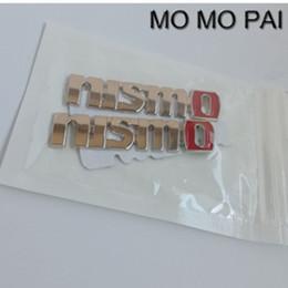 Car styling nuevo nismo 7.5 * 1.5 emblema insignia calcomanía del coche de metal universal fit para toyota camry corolla yaris desde fabricantes