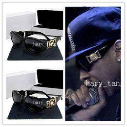 Wholesale Sunglasses Box Gold - 2016 new fashion UV 400 Original box Protection Italy Brand Designer Gold Chain Tyga Medusa Sunglasses Men Women Sun glasses Free shipping