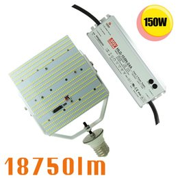 Wholesale Pressure Industrial - Led parking lot light Industrial Warehouse lights 150w retrofit kits Shoebox replace 400W metal halide high pressure sodium lamp