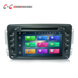 Pantalla mercedes benz online-Reproductor de DVD actualizado del coche de 4G RAM Octa Core Android 8.0 para Benz W209 con la radio GPS Navi Wifi DVR Enlace de espejo