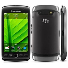 Камера сенсорный экран сотовые телефоны онлайн-Восстановленный оригинальный Blackberry Torch 9860 3.7-дюймовый сенсорный экран 768MB RAM 4GB ROM 5MP камера WIFI GPS 3G разблокирован сотовый телефон DHL 1 шт.