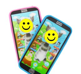 Wholesale Toy Phones For Babies - Baby Early Learning Machines Educational toy phone with Musical instruments sounds kids phone musical Play mobile for kids