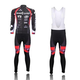 Wholesale Cube Long Jersey - 2015 MHW CUBE Winter Thermal Long Sleeve Cycling jersey(Bib Set None Bib Set) Bicycle Wear