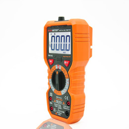 Wholesale Multimeter Capacitance Temperature - Freeshipping Digital Multimeter Measuring Voltage Current Resistance Capacitance Frequency Temperature hFE NCV Live Line Tester