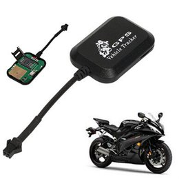 Wholesale Motorcycle Gprs Gps - Radar Sensor Mini Vehicle Motorcycle Bike anti theft system LBS+GPS GSM GPRS Alarm Real Time Car Tracker Monitor Tracking