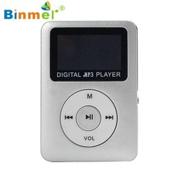 Wholesale 1gb Micro Sd Cards Wholesale - Wholesale- Best Price MP3 Player gift Lossless Sound USB Digital MP3 Player LCD Screen Support 32GB Micro SD Card Hot-sale Mar31