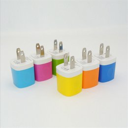 Wholesale Best Branded Tablets - Best quality Chargers plug Cell Phone Quick Charger USB wall 1A Power Adapter Wall general Charger Plug for samsung tablet ipad Custom logo