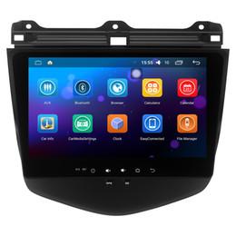 Wholesale Headunit Stereo - Android 5.1.1 Headunit Car Stereo Sat Navi For honda Accord 7 2003-2007 accord7 GPS Navi Radio Bluetooth Steering Wheel Control