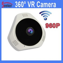 Wholesale High Quality Baby Monitor Wireless - Wholesale Free Shipping High Quality Real HD 960P 360 Degree Wireless Wifi Camera Day Night Vision TF Card Baby Monitor Home Security