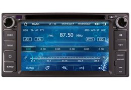 Wholesale Toyota Vios Gps Dvd - 2-Din Car DVD Player GPS Navigation for Toyota Yaris Hilux Vios Tundra Hiace with Radio Bluetooth USB SD AUX Auto Audio Video