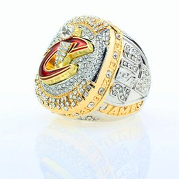 Wholesale Free Rings Jewelry - Basketball Championship Rings For Men Cleveland LeBron 2016 Top Quality James Mvp Hiphop Ring Jewelry Luxury Gifts Free Shipping