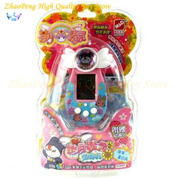 Wholesale Game Elf - 3 Colors Tamagotchi Machine Game Virtual Cyber Toy Pet Electronic Funny Pets Toys Gift Elves Of Pet Kids Toys Doll Ver Juguetes