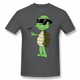 Wholesale Create Shirt - Print Youth Snapping Turtle T Shirt 100% Cotton Create For Mens Natural Cotton T-Shirt Shirt