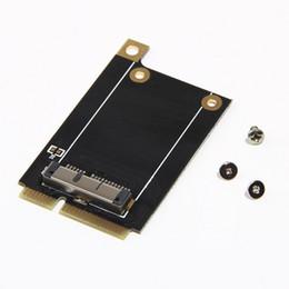 Wholesale pci laptop - Wholesale- Mini PCI-E Adapter Converter for BCM94360CD BCM94331CD Convert BCM94360CD BCM94331CD