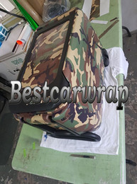 Wholesale Change Tables - Forest Green Camo Vinyl Car Wrap With air bubble Free Waterproof sticker for AUTO   BOAT   Plane   table covering size 1.52x10m 20m 30m
