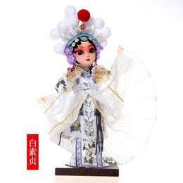 Wholesale Chinese Silk Ornaments - Beijing Tang Fang silk doll Peking Opera dolls ornaments gifts gifts wind Chinese foreigners